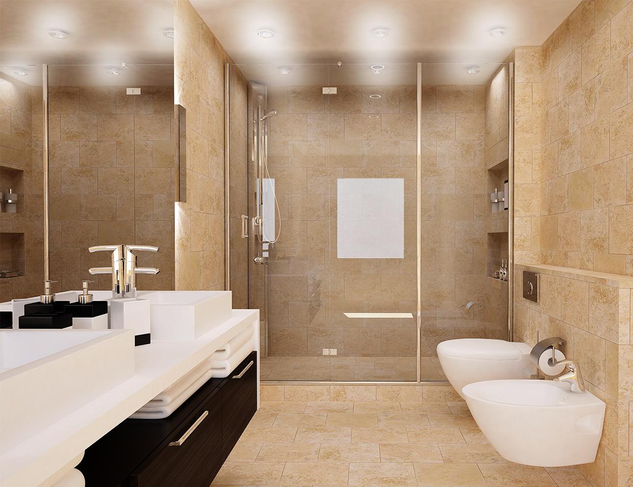 La marbrerie denis jean luc ma trise la r alisation de for Carrelage marbre salle de bain