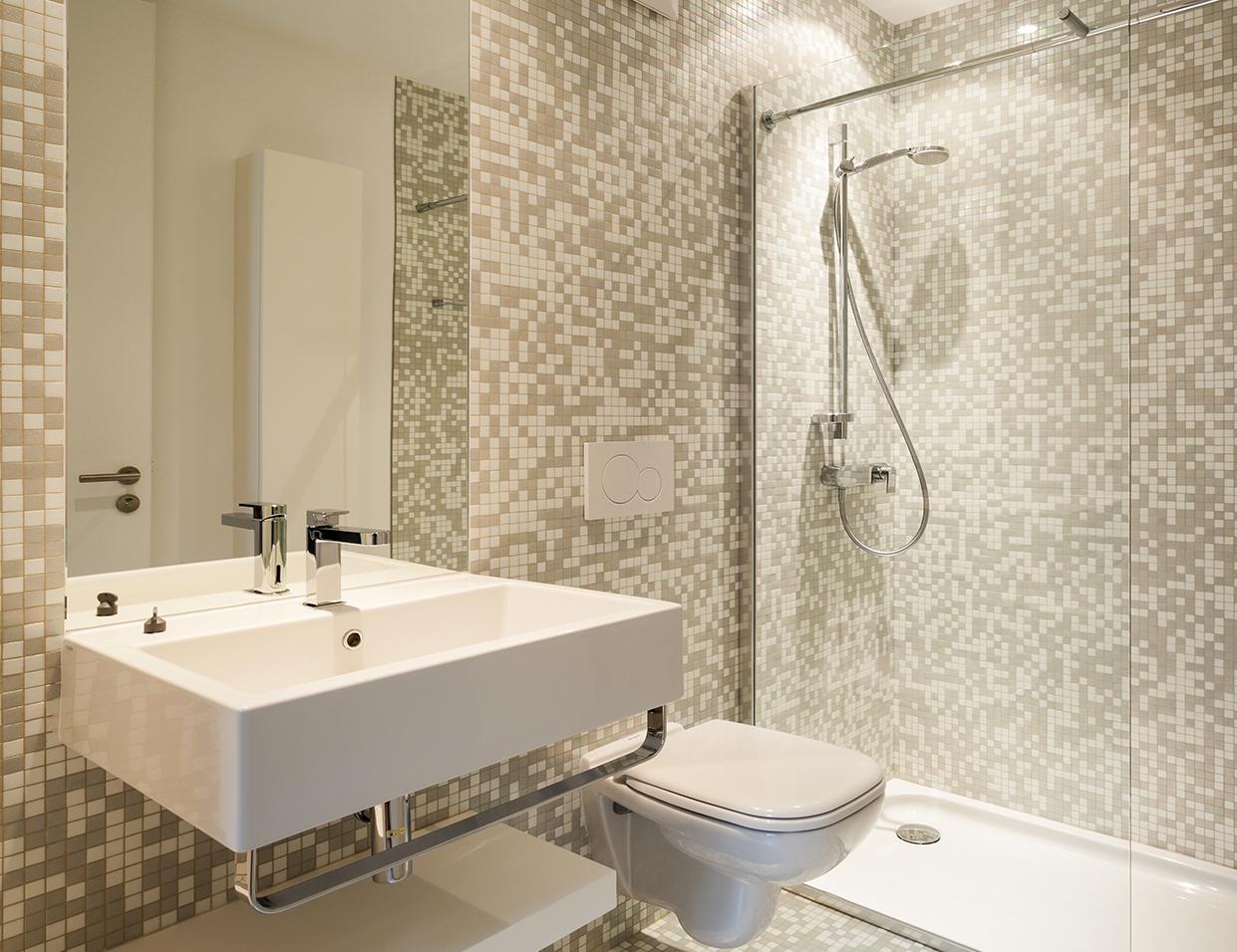 Salle de bain mosaique perfect carrelage mosaique for Mosaique salle de bain castorama